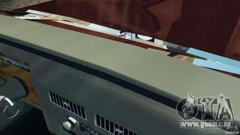 Cadillac Fleetwood Brougham Delegance 1986 pour GTA 4 Salon