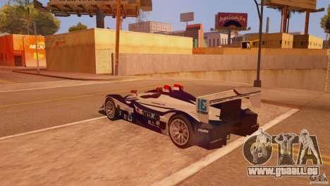 Porsche RS Spyder EVO Dyson Racing für GTA San Andreas linke Ansicht