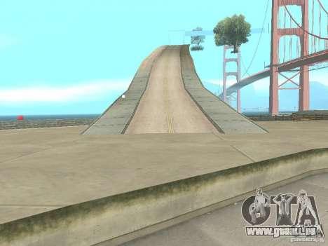 New Drift Track SF pour GTA San Andreas quatrième écran