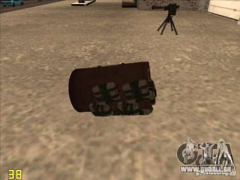 Bo4ka pour GTA San Andreas deuxième écran