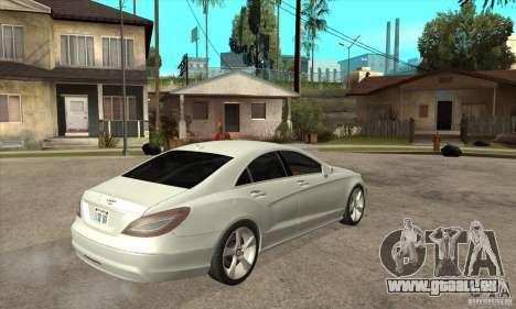Mercedes-Benz CLS 350 2011 für GTA San Andreas rechten Ansicht
