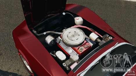 Chevrolet Corvette Stringray 1969 v1.0 [EPM] pour GTA 4 est une vue de l'intérieur