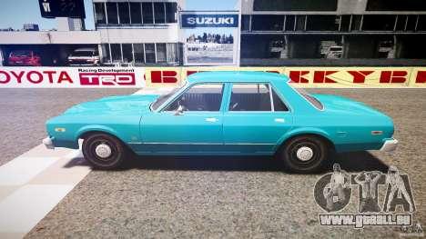 Dodge Aspen v1.1 1979 yellow rear turn signals pour GTA 4 est une gauche