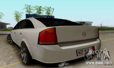 Opel Vectra C 2005 pour GTA San Andreas laissé vue