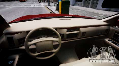 Buick Roadmaster Sedan 1996 v 2.0 pour GTA 4 Vue arrière