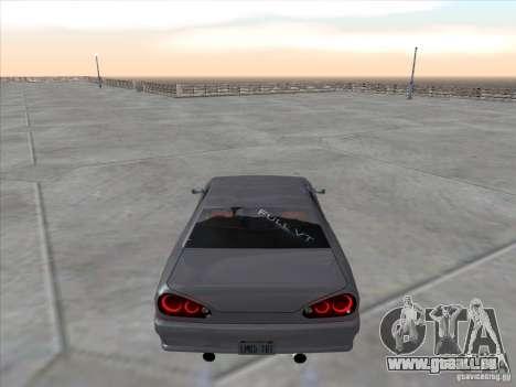 Elegy Full VT v1.2 pour GTA San Andreas sur la vue arrière gauche