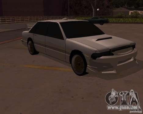 Taxi pour GTA San Andreas vue arrière