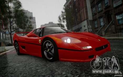 Ferrari F50 1995 pour GTA 4 est un droit