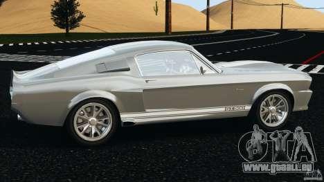 Shelby GT 500 Eleanor v2.0 pour GTA 4 est une gauche