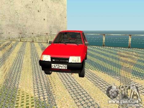 VAZ 2109 v2 pour GTA San Andreas laissé vue