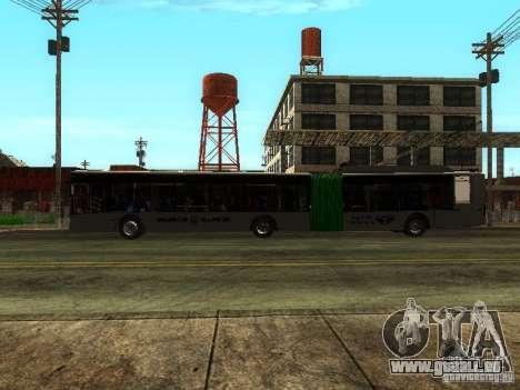 Trolleybus LAZ E301 für GTA San Andreas Innenansicht