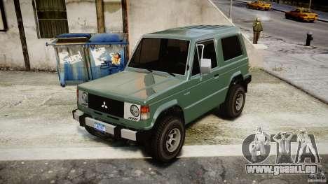Mitsubishi Pajero I [Final] für GTA 4 rechte Ansicht