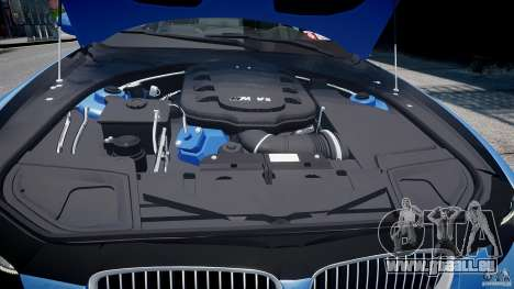 BMW M3 E92 2008 v.2.0 pour GTA 4 est une vue de dessous