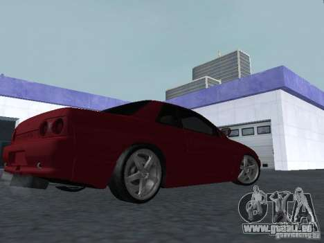 Nissan Skyline R32 Classic Drift für GTA San Andreas rechten Ansicht