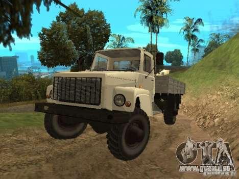 GAZ 3308 Sadko pour GTA San Andreas laissé vue