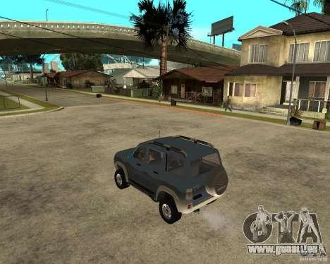 UAZ Patriot 4x4 pour GTA San Andreas laissé vue