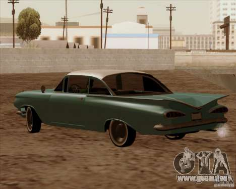 Chevrolet Impala 1959 pour GTA San Andreas vue intérieure