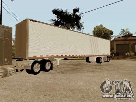 Anhänger, Peterbilt 379 Custom für GTA San Andreas Innenansicht