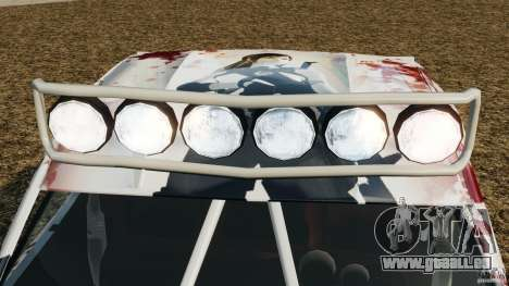 Toyota Tundra Karin Sahara v2.0 für GTA 4 Unteransicht