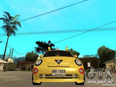 Volkswagen Beetle Pokemon pour GTA San Andreas vue de droite