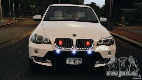 BMW X5 xDrive48i Security Plus pour GTA 4 Salon