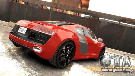 Audi R8 V10 2010 [EPM] pour GTA 4 Vue arrière