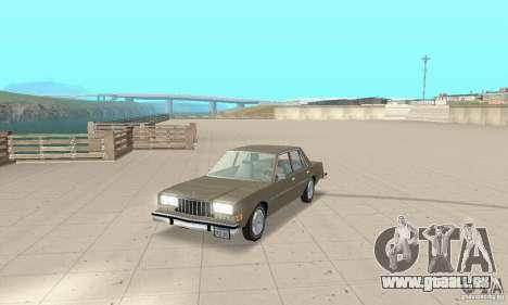 Dodge Diplomat 1985 v2.0 pour GTA San Andreas
