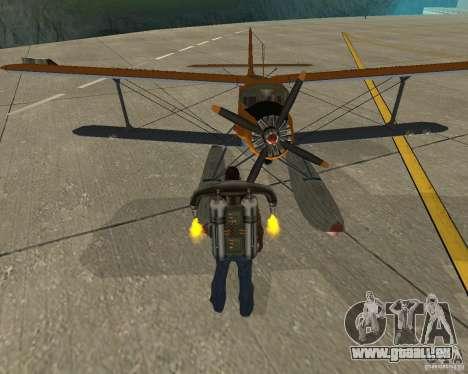 An-2V für GTA San Andreas Rückansicht