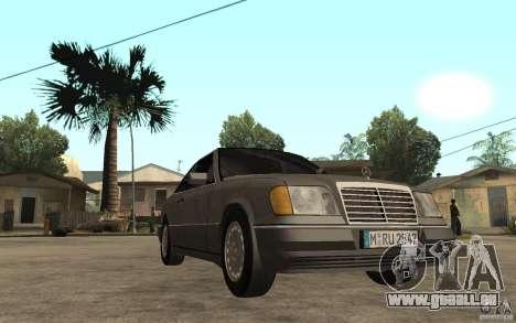 Mercedes-Benz E320 C124 pour GTA San Andreas vue arrière