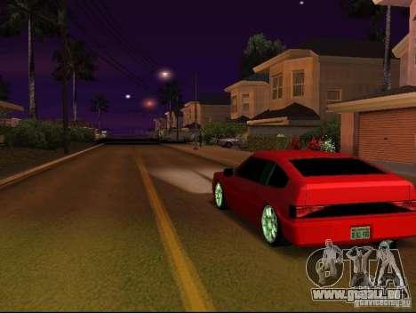 New Blistac für GTA San Andreas zurück linke Ansicht