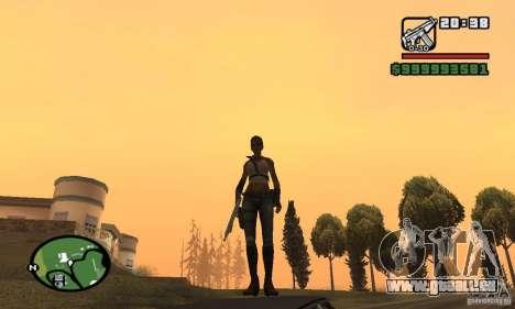 Das neue militärische Mädchen für GTA San Andreas dritten Screenshot