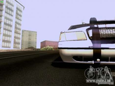 Ford Crown Victoria Canadian Mounted Police pour GTA San Andreas vue intérieure