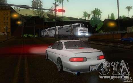 Lexus SC300 pour GTA San Andreas sur la vue arrière gauche