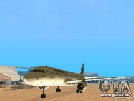 Airbus A320 Air France für GTA San Andreas