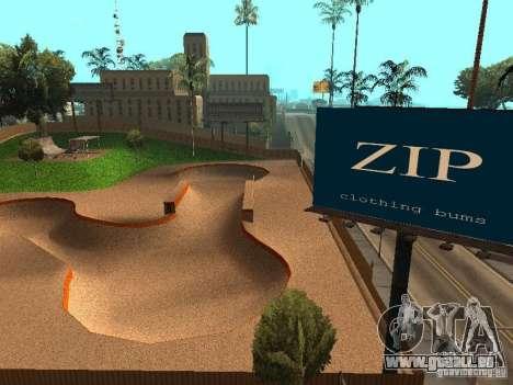New SkatePark v2 pour GTA San Andreas neuvième écran