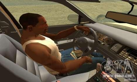 Ford Crown Victoria Neberska Police pour GTA San Andreas sur la vue arrière gauche