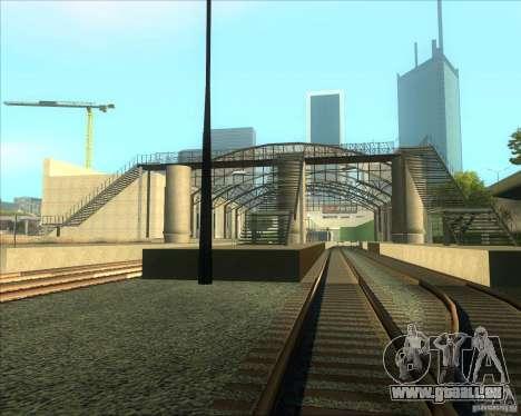 Die hohen Plattformen an Bahnhöfen für GTA San Andreas dritten Screenshot