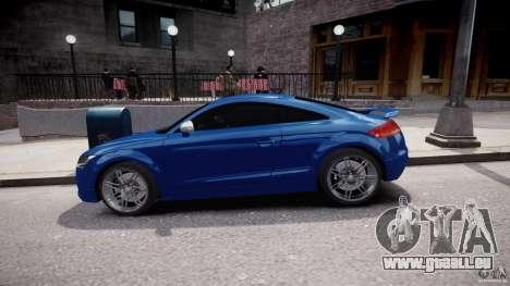 Audi TT RS Coupe v1 pour GTA 4 est une vue de l'intérieur