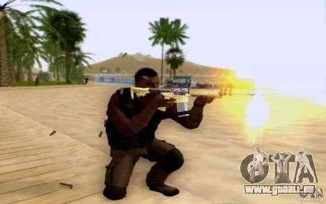 Salazar dans le civil pour GTA San Andreas troisième écran