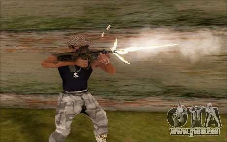 Tavor allgemeine-21 von WarFace v2 für GTA San Andreas