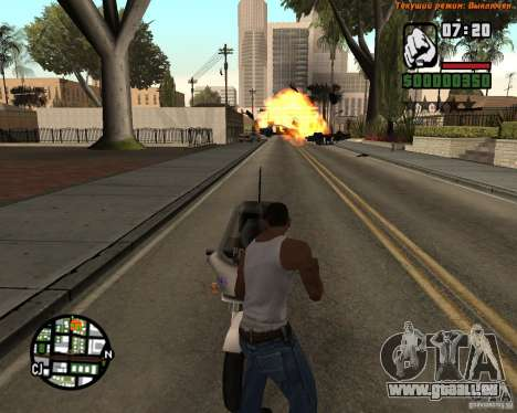 Super kick für GTA San Andreas her Screenshot