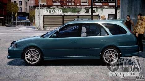 Toyota Sprinter Carib BZ-Touring 1999 [Beta] pour GTA 4 Vue arrière de la gauche