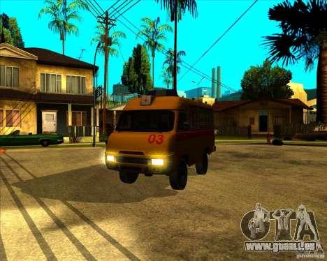 UAZ 3962 Medical pour GTA San Andreas