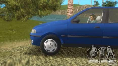 Fiat Palio für GTA Vice City linke Ansicht