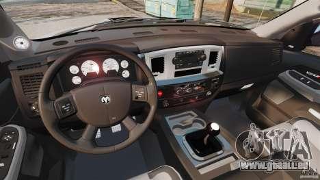 Dodge Ram SRT-10 2006 EPM pour GTA 4 Vue arrière