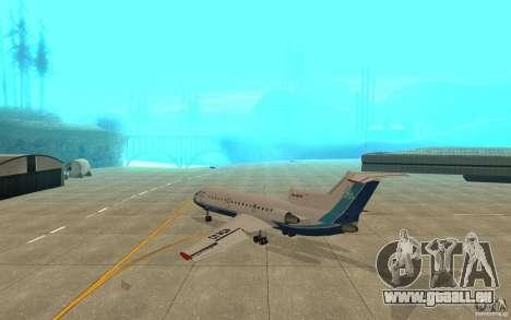 Jak-42 d Scat (Kasachstan) für GTA San Andreas rechten Ansicht