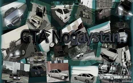 Le menu de la Nogaystan jeu de GTA pour GTA San Andreas