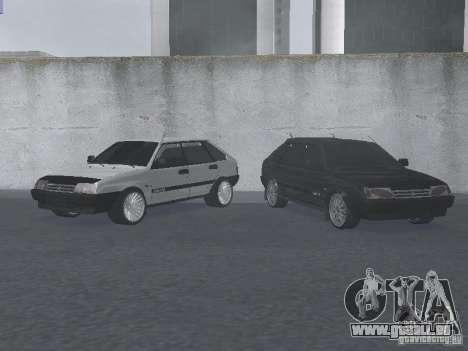 VAZ 2109 accordable pour GTA San Andreas laissé vue