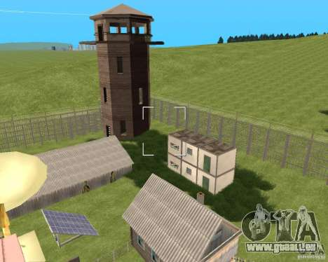 Base Gareli für GTA San Andreas zweiten Screenshot