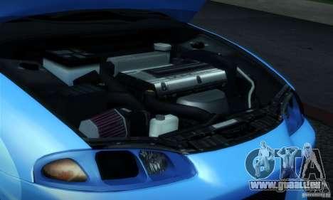 Mitsubishi Eclipse GSX 1999 pour GTA San Andreas vue intérieure